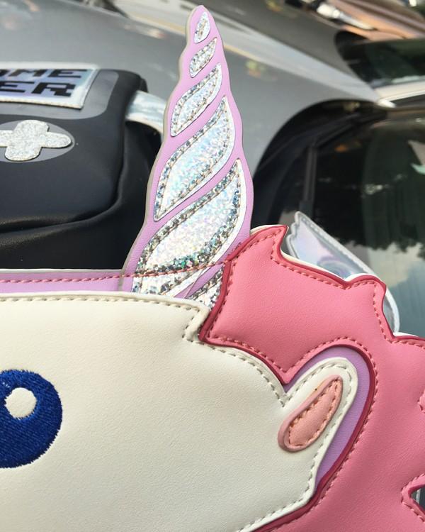 HTB1BveULpXXXXanXFXXq6xXFXXXD - Unicorn Handbag women Shoulder Bag Cute