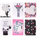 Butterfly Pug Flip PU Leather Stand Case Cover For Samsung Galaxy Tab 3 7.0 Lite SM-T110 T111 T116 T110 Tablet case #D