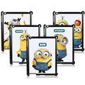 Fashion Cute Minions Case Cover Skinfor Apple iPad 2 3 4 Back Cases for Apple iPad 2/3/4
