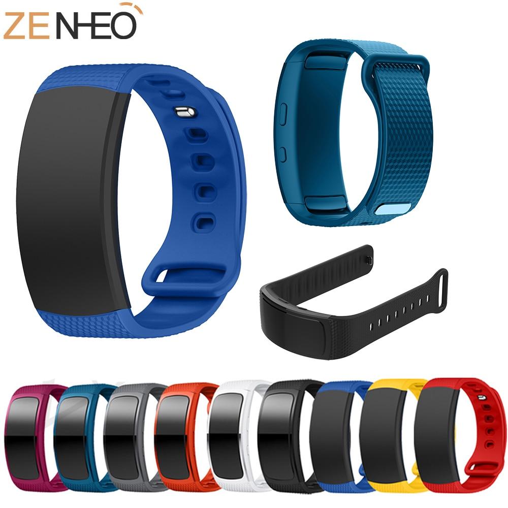 Bracelet de sport en Silicone de luxe pour Samsung Gear Fit2 Pro bracelet de montre bracelets pour Samsung Gear Fit 2 SM-R360 bracelet de montreBracelet de sport en Silicone de luxe pour Samsung Gear Fit2 Pro bracelet de montre bracelets pour Samsung Gear Fit 2 SM-R360 bracelet de montre