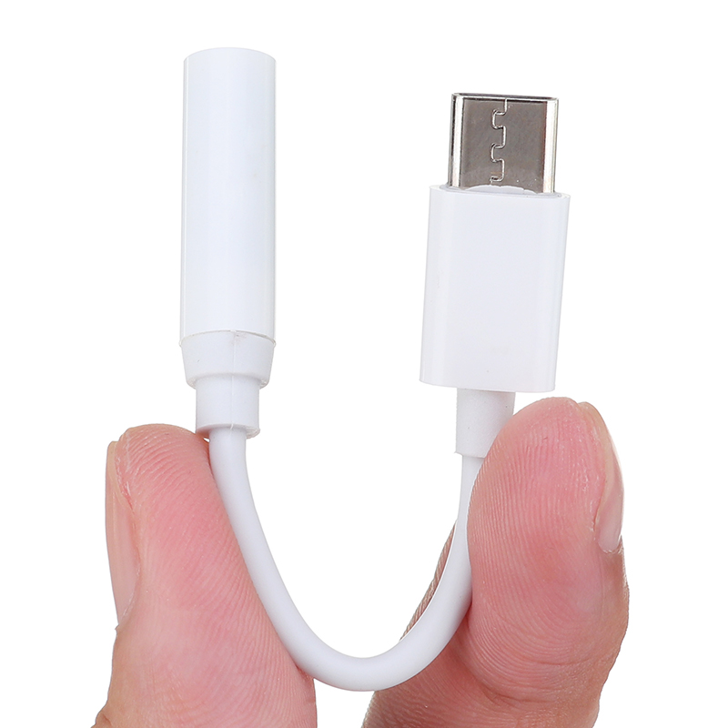 3.5 Mm USB-C Audio Cable Headphone Adapter  For IPhone Audio Adapter 3.5 Jack Headphone Earphone Charging Lighting Charger