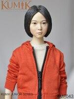 Kumik KMF043 1/6 Scale Full Set Action Figure Woman Figure Model PVC Hobbies Collection Toys
