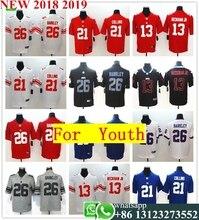 072f0c495 2018 Youth New York Saquon Barkley Odell Beckham Jr Landon Collins Vapor  Untouchable Limited Player Jersey
