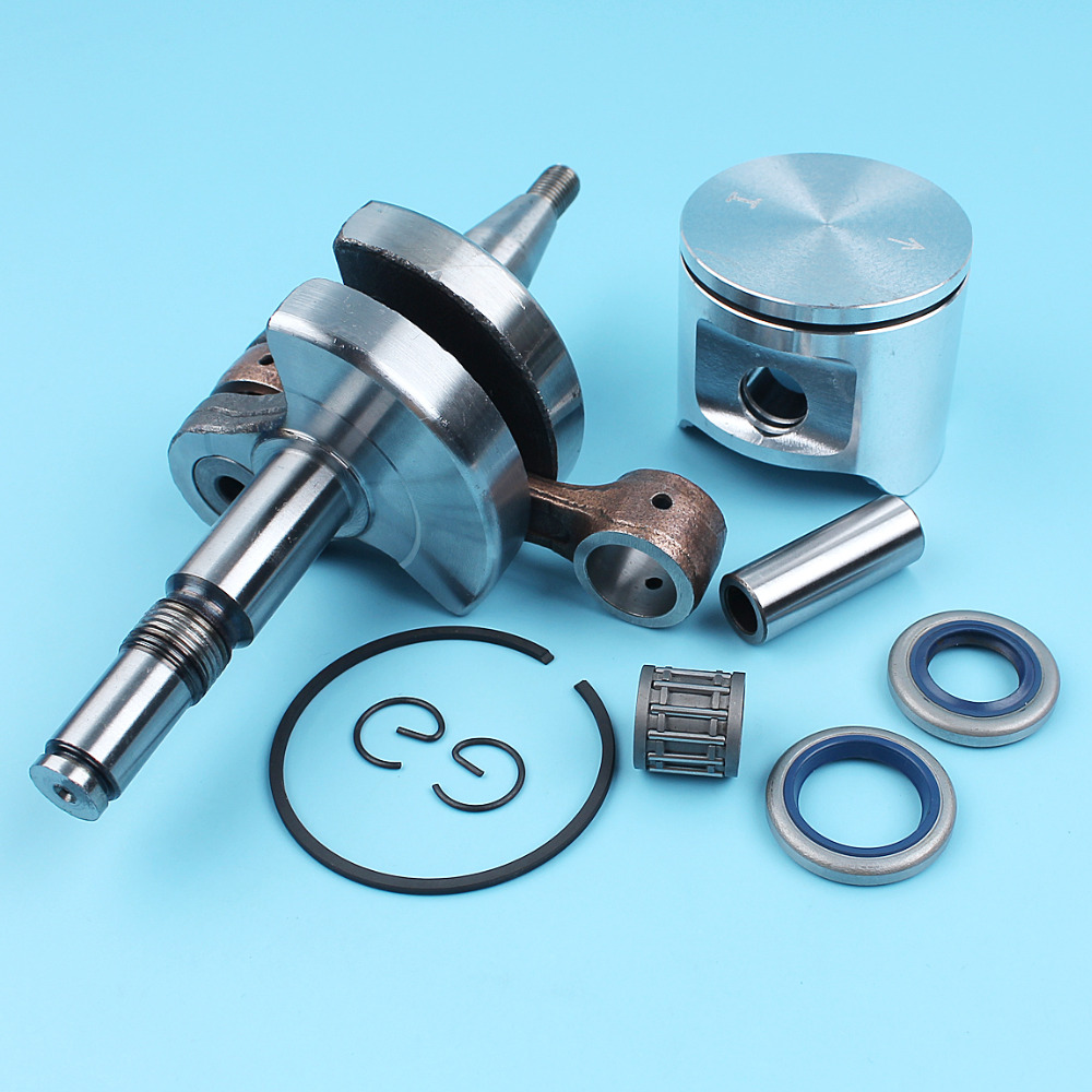 Needle Finger Circlip Seals Chainsaw  For  Pin Bearing  Crankshaft Ring Piston Kit Husqvarna 48mm 503691303 Oil 365
