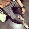 Hot sale spring and autumn Mens linen Cotton pants straight bottom flax casual pants men's Leisure trousers