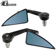 Universal 7/8 22mm handle bar motorcycle end mirror Motorcycle Mirror Accessories For Suzuki Bandit 400 Honda X-ADV Steed