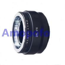 Amopofo DKL-FX Adapter,Voigtlander Retina DKL Lens to for Fujifilm FX X-Pro1 X-E2 X-M1 Adapter