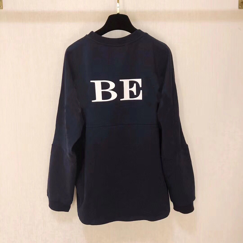 Girl sweatshirt Boys black/white Long Sleeve T-shirt Autumn Fashion soft pullover for Parents-children size why boys need parents