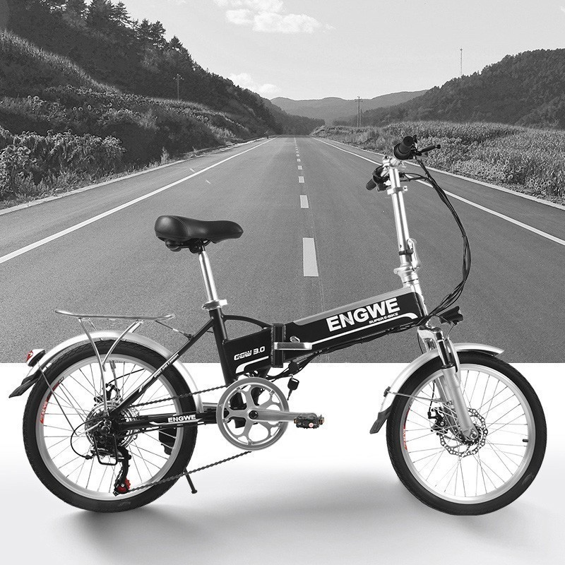 MYATU 250W Motor 48V 8AH Battery Foldable adult Electric bike Bicycle Aluminum Alloy LCD Display Electric Bicycle in Electric Bicycle from Sports Entertainment