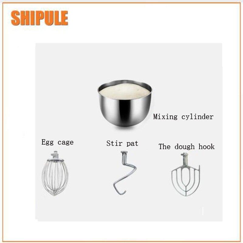 10L Flour mixer noodle make machine egg beater cake mixer commercial automatic dough mixer multifunction milk machine