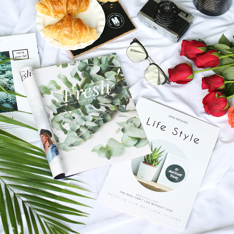 Life Magazine Picture Album for INS Photography Background Adornment Studio Photo Shooting Backdrops Prop Accessories Fotografia in Photo Studio Accessories from Consumer Electronics