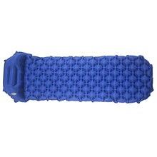 Уличная надувная подушка, коврик для спального мешка, быстронаполняемый влагостойкий коврик для кемпинга с подушкой, коврик для сна, пляжное одеяло