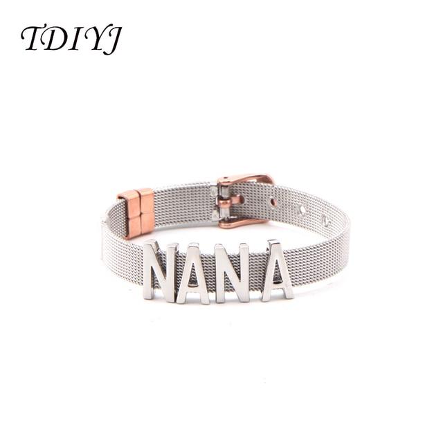 Купить женский сетчатый браслет tdiyj из нержавеющей стали diy keeper картинки