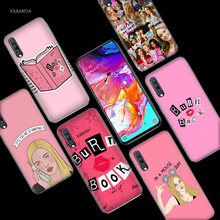 Mean Girls Burn Book Case for Samsung Galaxy A50 A70 A80 A60 A40 A30 A20 A10 M30 M20 M10 A6 A8 Plus A5 A7 A9 2018 Phone Bags NEW(China)