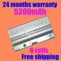 Jigu envío gratis nuevo bps8 bps8a bpl8 vgp-bps8 bpl8 bpl8a vgp-bps8a vgn-fz batería
