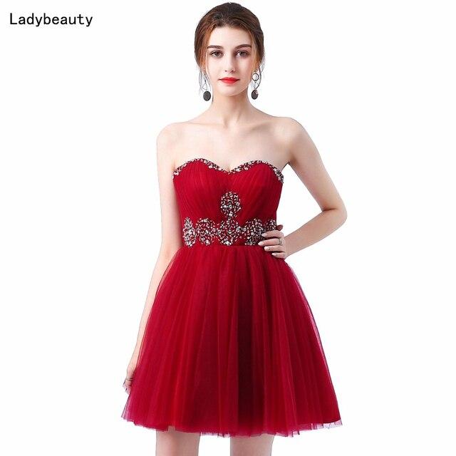 6faff49788 Ladybeauty 2018 siostry sukienka krótka suknia wieczorowa zakrętka tubki  krótki projekt sukienka wiązana na imprezę suknia