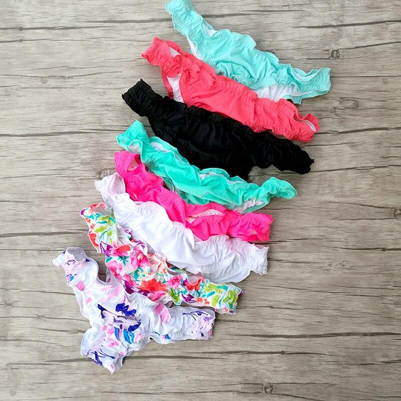 Woman Bikini Bottom T-back Trunks Lace Swimming Sexy swimwear Secret Thong bottoms Swimsuit Biquini Brazilian Bottoms 1