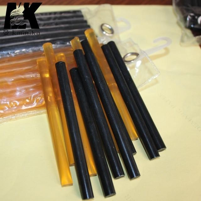 2packs24pcs Hot Melt Glue Stick For Fusion Keratin Bond Hair