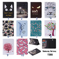 For Samsung Galaxy Tab A 8.0 T350 T351 T355 PU Leather Protective Skin case Cover for Galaxy Tab A 8.0 inch Tablet Accessories