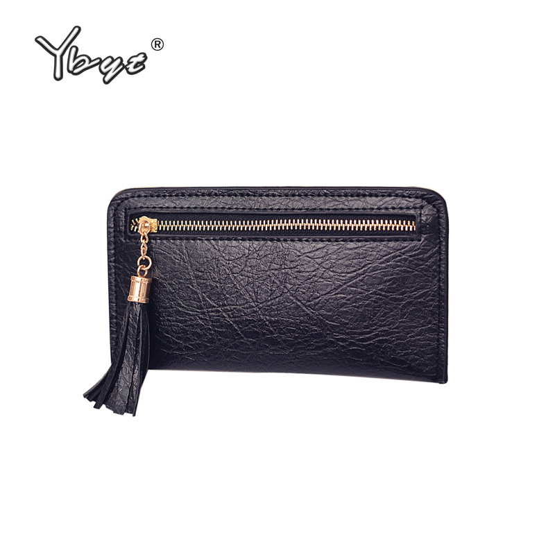 YBYT brand 2017 new women burst crack PU leather purse fashion envelope pack female clutch tassel evening bag ladies long wallet naivety new fashion women tassel clutch purse bag pu leather handbag evening party satchel s61222 drop shipping