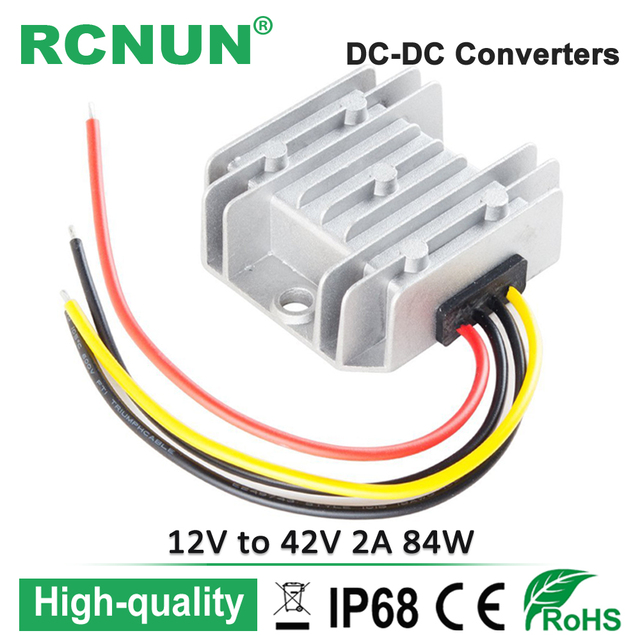 Pleasing New Arrival Dc 9 30V To Dc 42V 2A Power Converter Used For 36V Wiring Cloud Staixuggs Outletorg