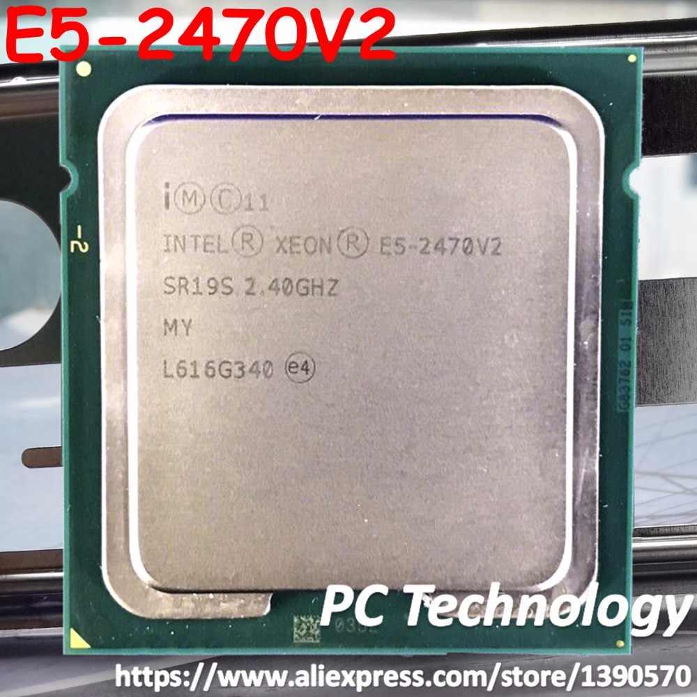 Original Intel Xeon qs E5-2470V2 2.40GHz 10-Core 25MB E5-2470 V2 LGA1356 E5 2470V2 95W free shipping E5 2470 V2