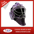 Magnificent ice hockey goalie helmet with carbon fiber and water transter printing decal super quality