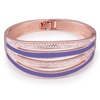 Aliexpress New Arrivals Hot Sale Bangle Bracelet Jewelry For Women Indian Bangles Made With Swarovski Elements