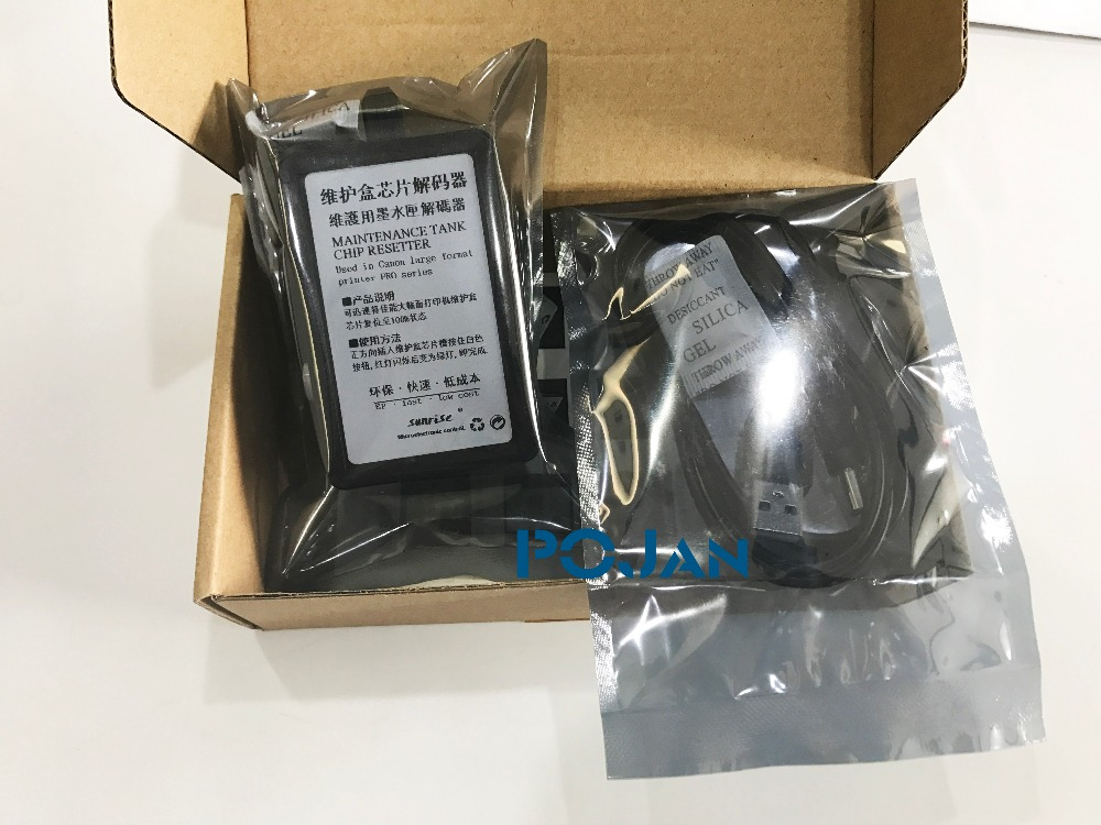 Maintenance Tank Chip Resetter For MC-02 MC-03 Imageprograf Pro 520 pro540 S pro560 S pro1000 pro2000 pro4000 pro4000S pro6000S. cs dx18 universal chip resetter for samsung for xerox for sharp toner cartridge chip and drum chip no software limitation
