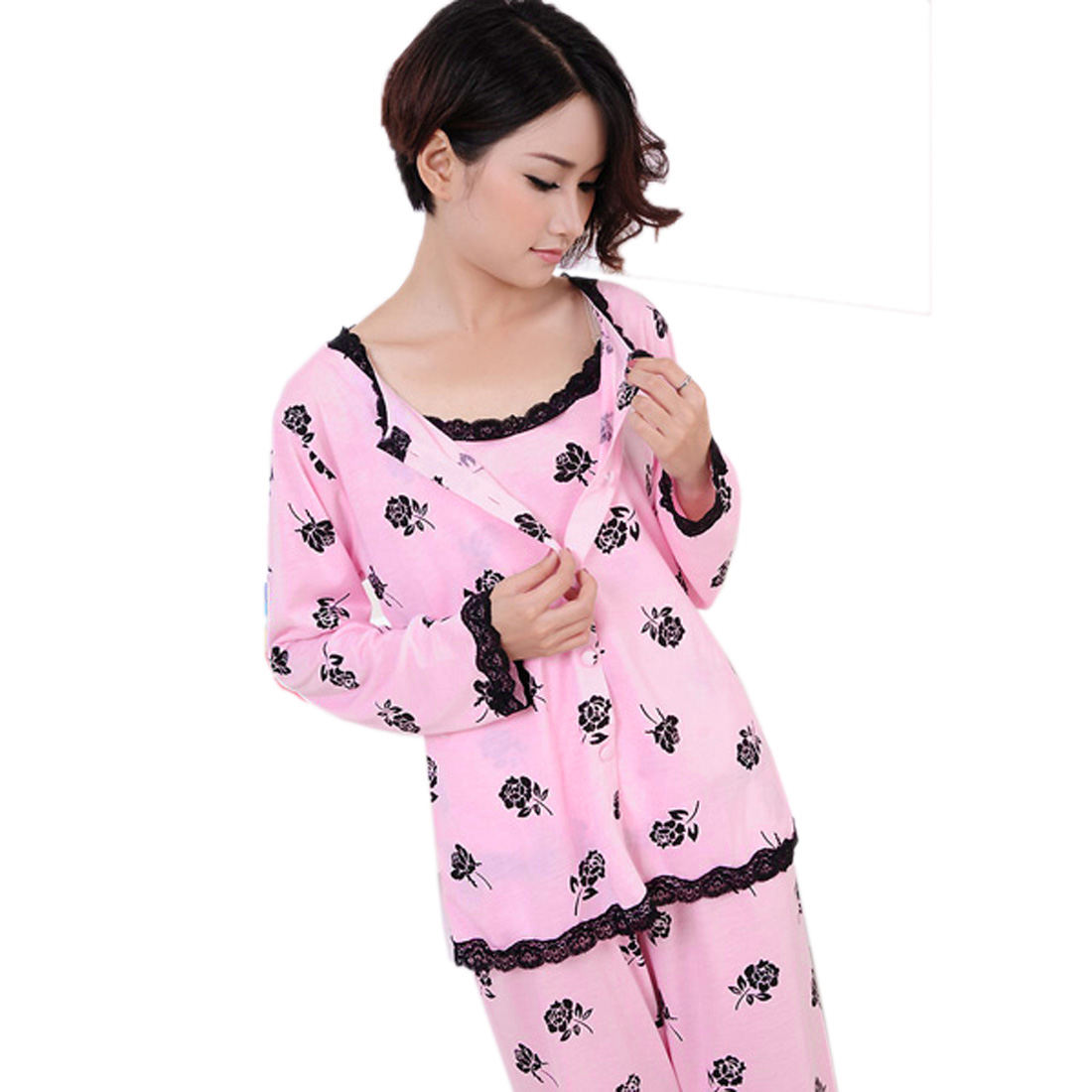 Compare Prices on 3 Piece Pajamas Women- Online Shopping/Buy Low ...