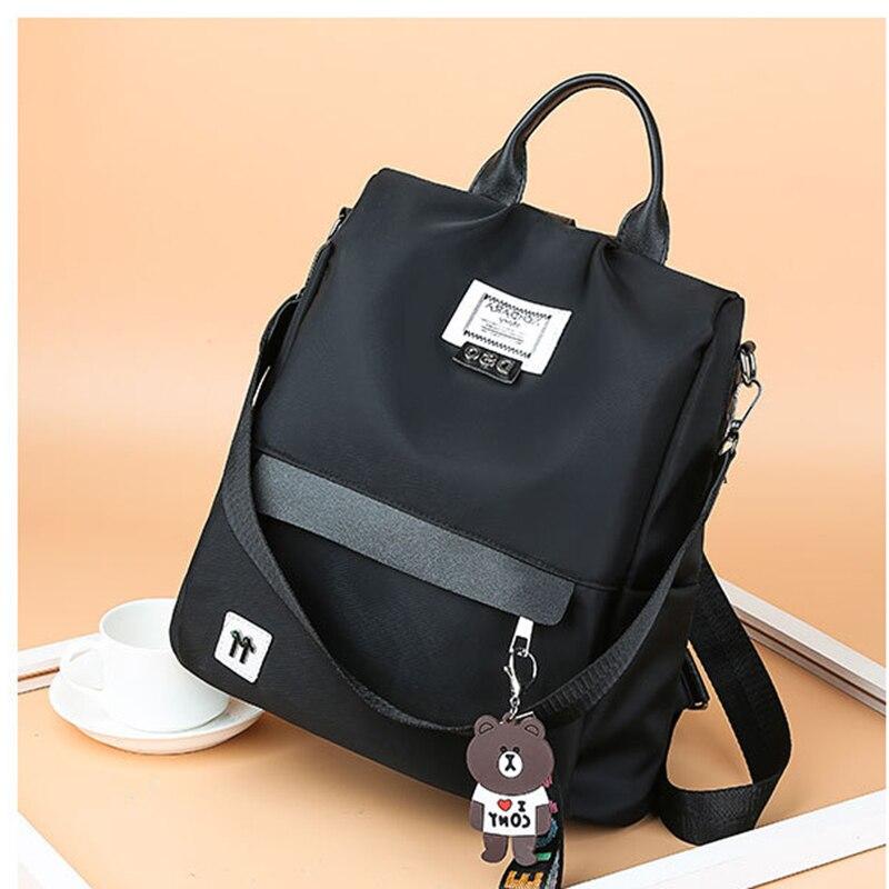 High Capacity Lady Cute Waterproof Anti-theft Oxford Cloth Bagpack Casual Backpacks School Luxury Backpack Women Bags Designer