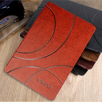 Luxury Brand New Fashion Flip Leather Stand Case For IPad 2 Smart Cover For IPad 3