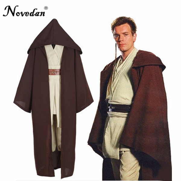Star Wars Dark Vador Chevalier Jedi Anakin Cosplay Robes Manteau Costume D'halloween Pour Adultes Hommes Ensemble Complet
