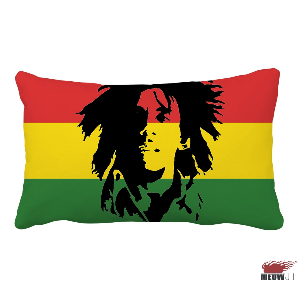 Us 105 21 Offbob Marley Multi Size Rectangle Throw Pillow Case Free Shipping In Pillow Case From Home Garden On Aliexpresscom Alibaba Group