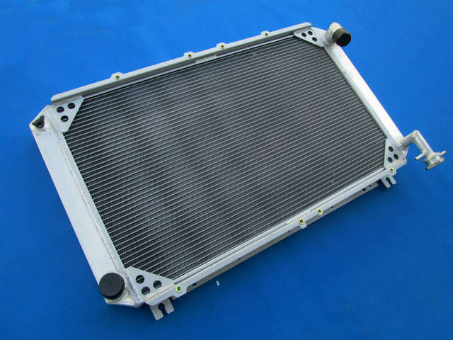 Detail Feedback Questions about 4 Row 56MM Aluminum Radiator