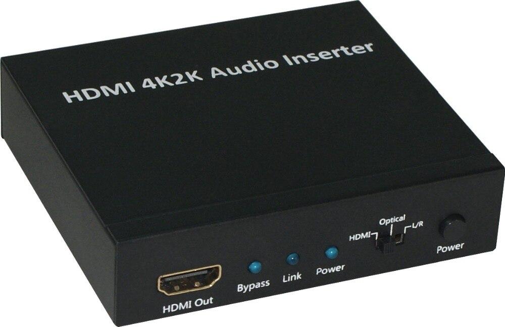 HDMI 4K2K AUDIO INSERTER
