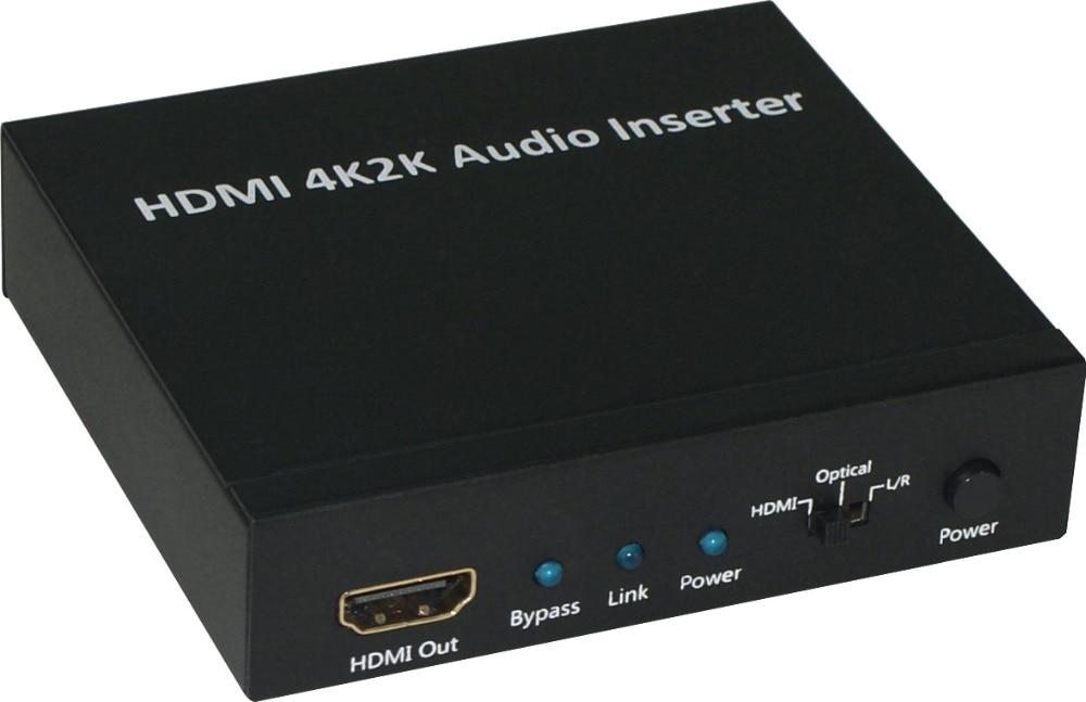 Insertion AUDIO HDMI 4K2K