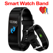 Smart Bracelet Sport Health Heart Rate Blood Pressure Band Activity Fitness Tracker Smartband