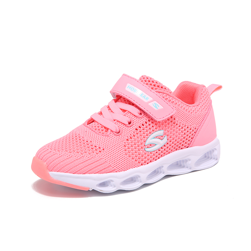 Hook & Loop Casual Shoes For Girls Breathable Blue Sneaker For Boys Unisex Autumn Children Footwear Fashion Children Tennis Shoe