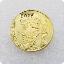 1925 polska 100 złotych (mikołaj Kopernik; strajk próbny) kopiuj monetę darmowa dostawa