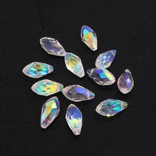 Clear Crystal Beads Loose