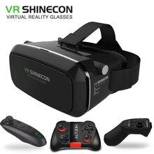 Original VR Shinecon Virtual Reality VR Box 3D VR Glasses Game BOX Google board For 4