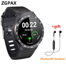 New Fashion ZGPAX Smartwatch Android phone with 3G GPS WiFi Camera Pedometer Heart Rate Bluetooth smart watch For iphone xiaomi