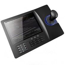8 дюймов ЖК-дисплей аналоговые RS485 контроллер клавиатуры ptz PELCO-D/P ЖК-дисплей Дисплей для аналогового Скорость купол функции панорамирования, наклона и Камера CCTV Управление