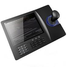 8 inch LCD Analog RS485 PTZ Keyboard Controller PELCO-D/PLCD Display For Analog Speed Dome Pan Tilt Camera CCTV control стоимость