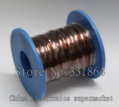 цена на Magnet Wire 18m Enameled Copper wire Magnetic Coil Winding Item specifics 0.8mm QZY-2-180 High temperature Copper Wire