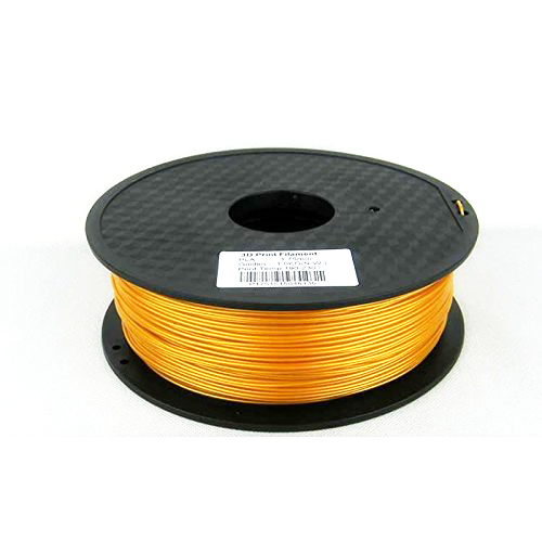 1.75mm Gold PLA 3D Printer Filament - Dimensional Accuracy +/- 0.05mm - Multiple Color Choices