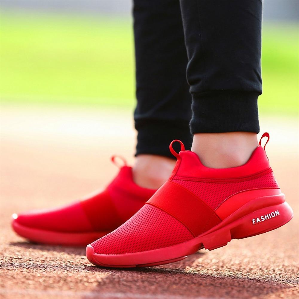 HTB1BvmvX8iE3KVjSZFMq6zQhVXab Damyuan New Fashion Men Women Flyweather Comfortable Breathable Non-leather Casual Light Size 46 Sport Mesh Jogging Shoes