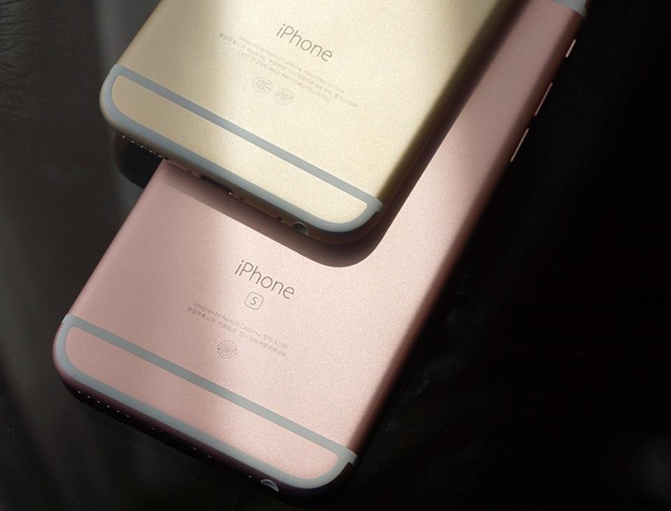 Разблокированный Apple iPhone 6S/iPhone 6S плюс мобильный телефон 12.0MP 2G Оперативная память 16/32/64/128G Встроенная память 4 аппарат не привязан к оператору сотовой связи Dual Core мобильные телефоны с wifi