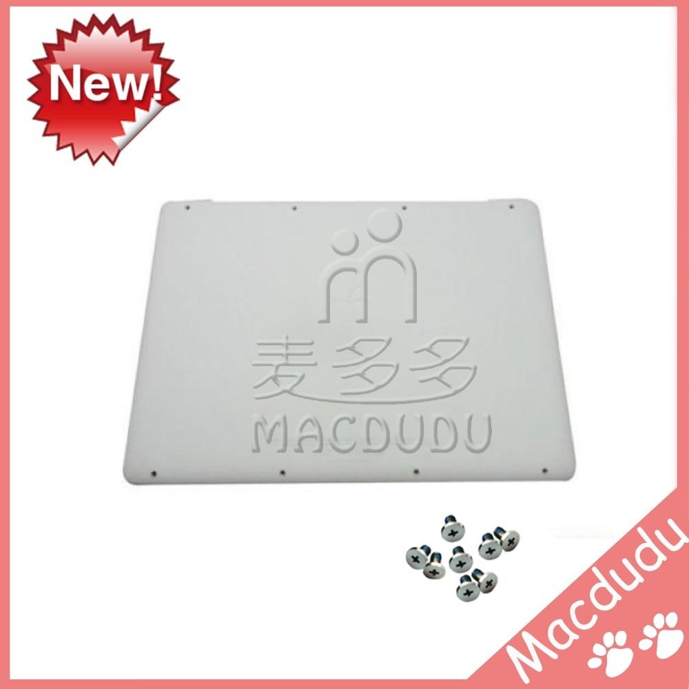 New Lower Bottom Case Cover with bottom screws For MacBook A1342 13 MC207 MC516 604-1033 new lower bottom case cover for macbook pro 13 a1502 604 4288 a 2013 retina